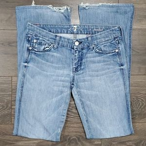 ❤7 FOR ALL MANKIND A POCKET BOOTCUT JEANS, 4 (27)